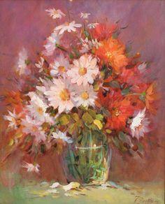 """Saatchi Art Artist Helmut Pete Beckmann; Painting, """"My flowers"""" #art"""