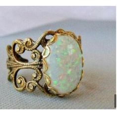 Opal, the most beautiful stone in the world.