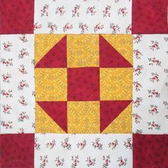 Barbara Brackman's MATERIAL CULTURE: Richmond Reds plus Yellow for Jane Austen