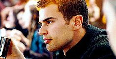 Theo James, Those Eyebrows