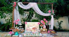 Σήμερα μοιραζόμαστε μαζί σας μια πανέμορφη, άκρως κοριτσίστικη βάπτιση με θέμα το τροχόσπιτο camper. Η βάπτιση της μικρής Στυλιάνας ήταν...see more » Baptism Decorations, Table Decorations, Alice In Wonderland Theme, Christening, Wedding Table, Bloom, Girly, Baby Shower, Bride
