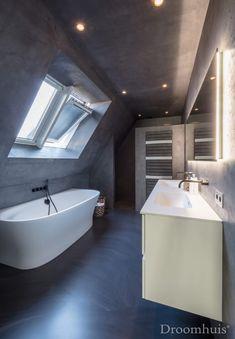 Schuurwoning Hardenberg-35 Bathtub, Interior Design, Sims 4, Bathrooms, Gardens, Greenhouses, House, Standing Bath, Nest Design