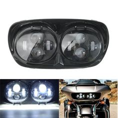 Deep cut gauge bezel kit products pinterest harley road hilo beam motorcycle dual led headlight assembly for harley road glide worldwide delivery original best quality product for of its real pri fandeluxe Choice Image