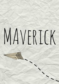 Maverick: Meaning, origin, and popularity of the name. A nonconformist name that appeared after the 2008 presidential election, Maverick is on its way up in popularity.