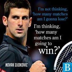 Novak Djokovic has the outlook of a winner but will he win at Wimbledon 2014?