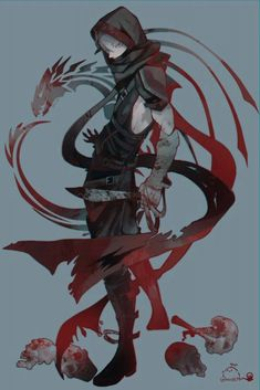 Reference for one of the Crimson Wanderers(? Fantasy Character Design, Character Design Inspiration, Character Concept, Character Art, Concept Art, 5 Anime, Anime Guys, Anime Art, Anime Fantasy