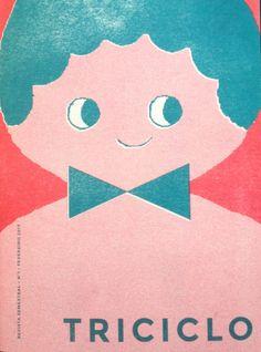 O nome e o logotipo não podiam ser melhores e a notícia do aparecimento duma revista infantil assim, como é esta Triciclo, é mesmo uma alegr... Duma, Cover, Movie Posters, Art, Children's Magazines, Shelf Wall, Bass, Logo, Tricycle