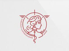 Municipal Hospital of Kezdivasarhely - Healthcare Branding Logo Design Typography Logo, Logo Branding, Lettering, Tattoo Studio, Ideas Para Logos, Type Logo, Inspiration Logo Design, Logo Face, Beauty Logo