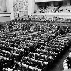 On 29 Apr 1958 the UN Conference on the Law of the Sea in opened for signature 4 conventions leading to 1982 Montego Bay's Convention International Court Of Justice, Geneva Conventions, Continental Shelf, United Nations General Assembly, Main Page, Montego Bay, North Sea, Law, The Unit
