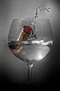 Cork Splash - Water Photography