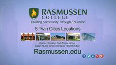 """Up first we learn how Rasmussen College gives back while """"Building Community through Education"""". """"Around Town"""" TV has been Featuring the BEST KEPT SECRETS & BUSINESSES for over a Decade! www.Around-Town.TV"""