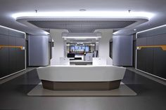 Liv Hospital Nurse Station design by Zoom TPU