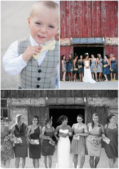 Pat   Leigh Ann - Mulberry Lane Farm Wedding - Hilbert, Wisconsin   Photographs by Jenna Leigh