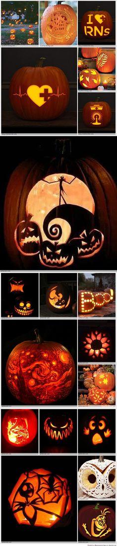 Pumpkin Carving Patterns Pumpkin Crafts, Fall Crafts, Pumpkin Carving Patterns, Pumpkin Carvings, Pumpkin Stencil, Halloween Decorations, Halloween Ideas, Holiday Parties, Collage
