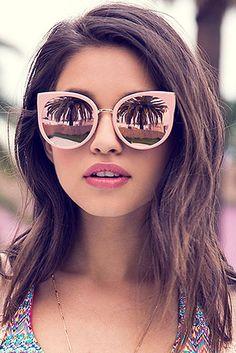 sunglasses 60 Fashionable sunglasses for beautiful woman - Page 34 of 59 - SooPush Sunglasses Price, Stylish Sunglasses, Sunglasses Online, Cat Eye Sunglasses, Mirrored Sunglasses, Summer Sunglasses, Vintage Sunglasses, Girls Sunglasses, Sunglasses Storage