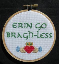 Erin Go Bragh-less Irish Cross-Stitch by LeaveYouInStitches