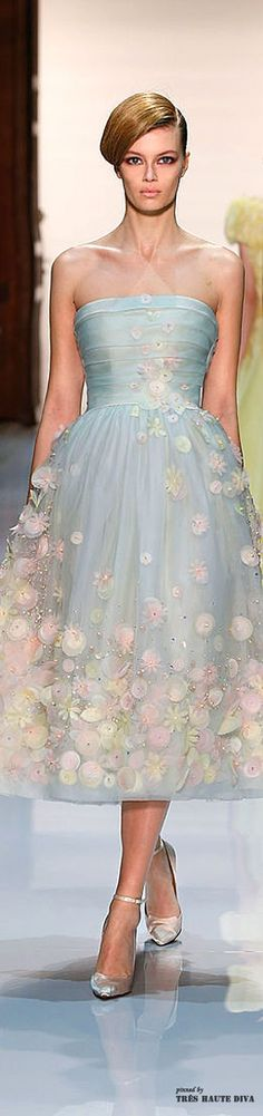 #Georges Hobeika Spring 2014 Couture ♔ Runway