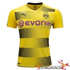 It Maglie Calcio PUMA Home Maglia Borussia Dortmund 17-18 Giallo Camisas De  Futebol cce5d89025718