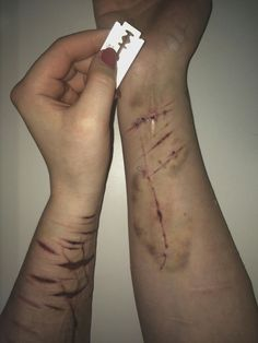 Depression is forever Depression Kills, Depression Quotes, Creepy Quotes, Pretending To Be Happy, People Dont Understand, Sad Pictures, Self Destruction, Sad Life, Sharpie Tattoos