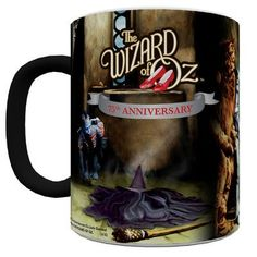 Trend Setters Wizard of Oz Anniversary (Melting Witch) Morphing Mug Wizard Of Oz 1939, Wizard Of Oz Gifts, Land Of Oz, Ruby Slippers, Yellow Brick Road, Wicked Witch, Over The Rainbow, The Wiz, Good Movies