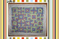 This quilt was made after watching a tutorial someplace... Don't you hate when you can't remember WHERE??? . It used a yard (or was it a yar...