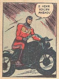 The benefits of the new Nissan Leaf Motorcycle were immediately apparent during his nightly crime watch.
