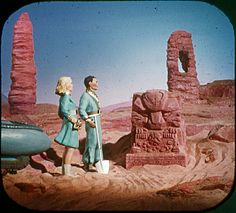 """2.3 """"In Martian desert, they dig out a strange figure."""" by SnowSara, via Flickr"""