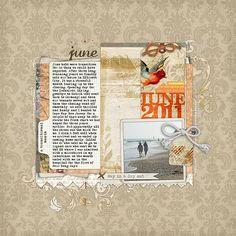 wonderful layout by Katie Pertiet