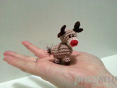#haken, gratis patroon, Nederlands, amigurumi, Rudolf het rendier, Kerstmis, sleutelhanger, tashanger, decoratie, #haakpatroon