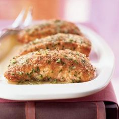 Apple and Horseradish-Glazed Salmon by Cooking Light
