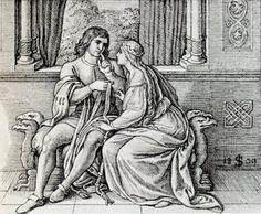 Siegfried trifft Kriemhild (Siegfried meets Kriemhild)
