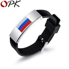 New Fashion Ball Fans Wristband Black Punk Rubber Silicone World Cup Friendship Bracelets Pulseras Hombre Caucho Bracelets For Men, Silver Bracelets, Fashion Bracelets, Fashion Jewelry, Men's Jewelry, Silver Ring, Steel Jewelry, Bangles, Plate