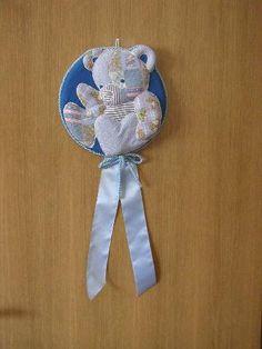 formella di nascita patchwork realizzata da Roberta locci