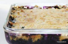Blueberry pineapple dessert