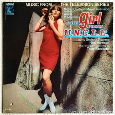 TV soundtrack to The Man From U.N.C.L.E. spin-off series The Girl From U.N.C.L.E. with a lot of great euro-spy style #jazz music.