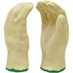 G & F Heat-Resistant Glove, Commercial-Grade, Size Medium, White