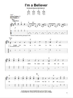 I'm A Believer by The Monkees - Easy Guitar Tab - Guitar Instructor