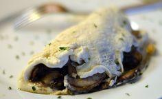 Súper Simple y sabroso Omelet de Claras con Champiñones