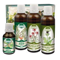Doplněk z byliny jako pomoc při zlepšení činnosti cévního systému