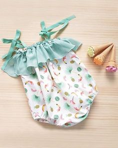 We Loved This Wonder Of Beautiful Clothe - Diy Crafts Baby Outfits, Toddler Outfits, Kids Outfits, Toddler Dress, Toddler Girls, Baby Girls, Baby Girl Romper, Cute Baby Girl, Baby Girl Fashion