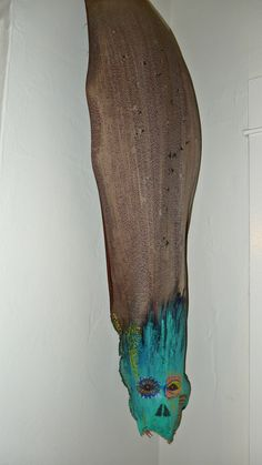 painted palm fronds art - Google Search