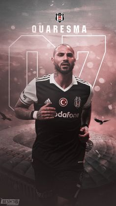 #Bjk #Beşiktaş #Q7 #RicardoQuaresma #Quaresma #trivela #King #Karakartal Ronaldo, Fifa, Champion, Football, Ottoman, Movie Posters, Movies, Fictional Characters, Hs Football