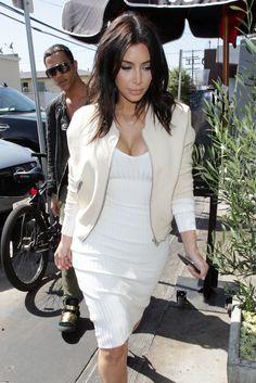 Kim Kardashian's new shorter haircut
