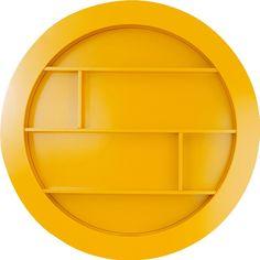 Square Circle 90cmØ90 cm gul