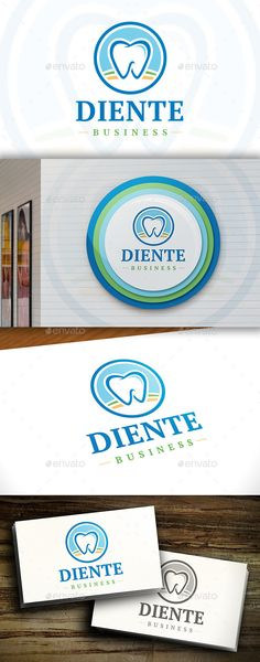 Healthy Food Logo by BossTwinsArt Package Three color version: Color, greyscale and single color. The logo is 100 resizable. You can change text and colors very ea Dj Logo, Logo Branding, Logo Design Template, Logo Templates, Dentist Logo, Green Logo, Logo Restaurant, Logo Food, Animal Logo