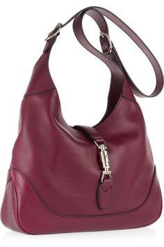 Gucci - Jackie leather shoulder bag. Guccio GucciGucci PursesGucci ... d88eb59060b89
