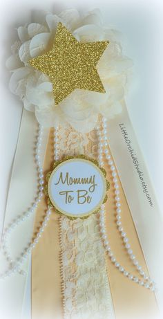 Twinkle Twinkle Little Star/ mommy to be corsage/ twinkle star baby shower/ mum…