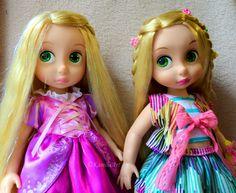 shiny hair Rapunzel&Rapunzel