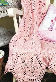 Twinkle Star Blanket - FREE pattern