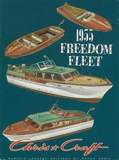 1955 Chris Craft Brochure